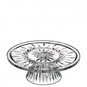 Footed Crystal Cake Plate/Stand, 28cm