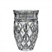 Crystal Vase, 20.5cm