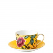 Teacup & Saucer, 145ml - Imperial Shape - Yellow Tonquin