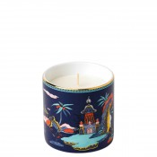 Scented Candle, 8.5cm - Blue Pagoda