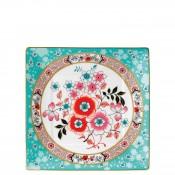Square Tidbit Plate/Tray, 15cm - Camellia