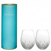 Lismore Nouveau - Set/2 Stemless Red Wine Glasses, 14cm, 590ml