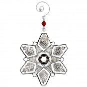 2016 Annual Snow Crystal Pierced Ornament, 11.5x10cm