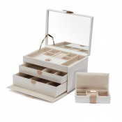 Medium Cream Jewelry Box