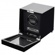 Single Black Watch Winder Box