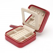 Zip Red Travel Case