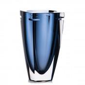 W Vase, 25cm - Sky