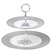 2-Tier Cake Stand/Etagere, cm