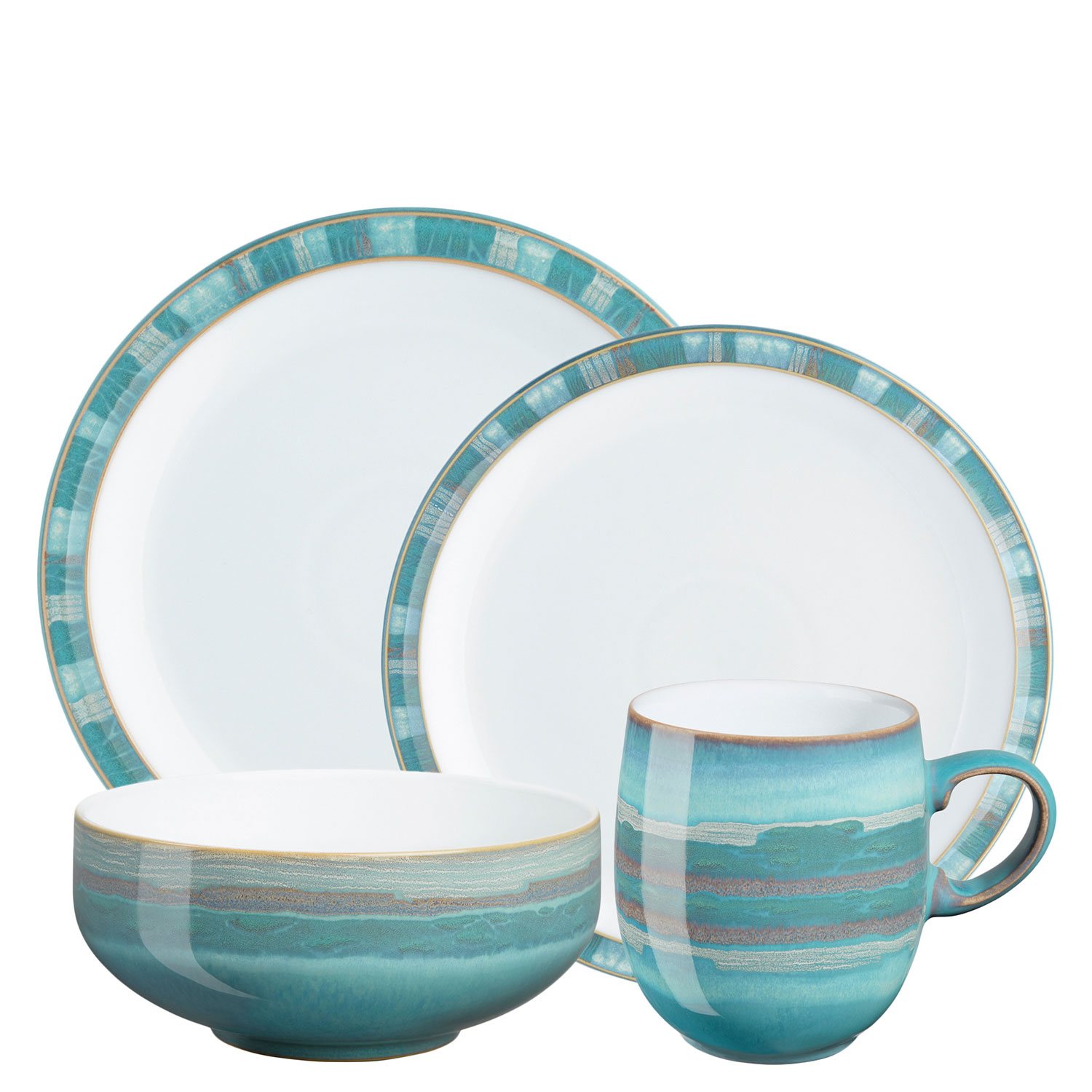 4 Piece Place Setting - Large Mug