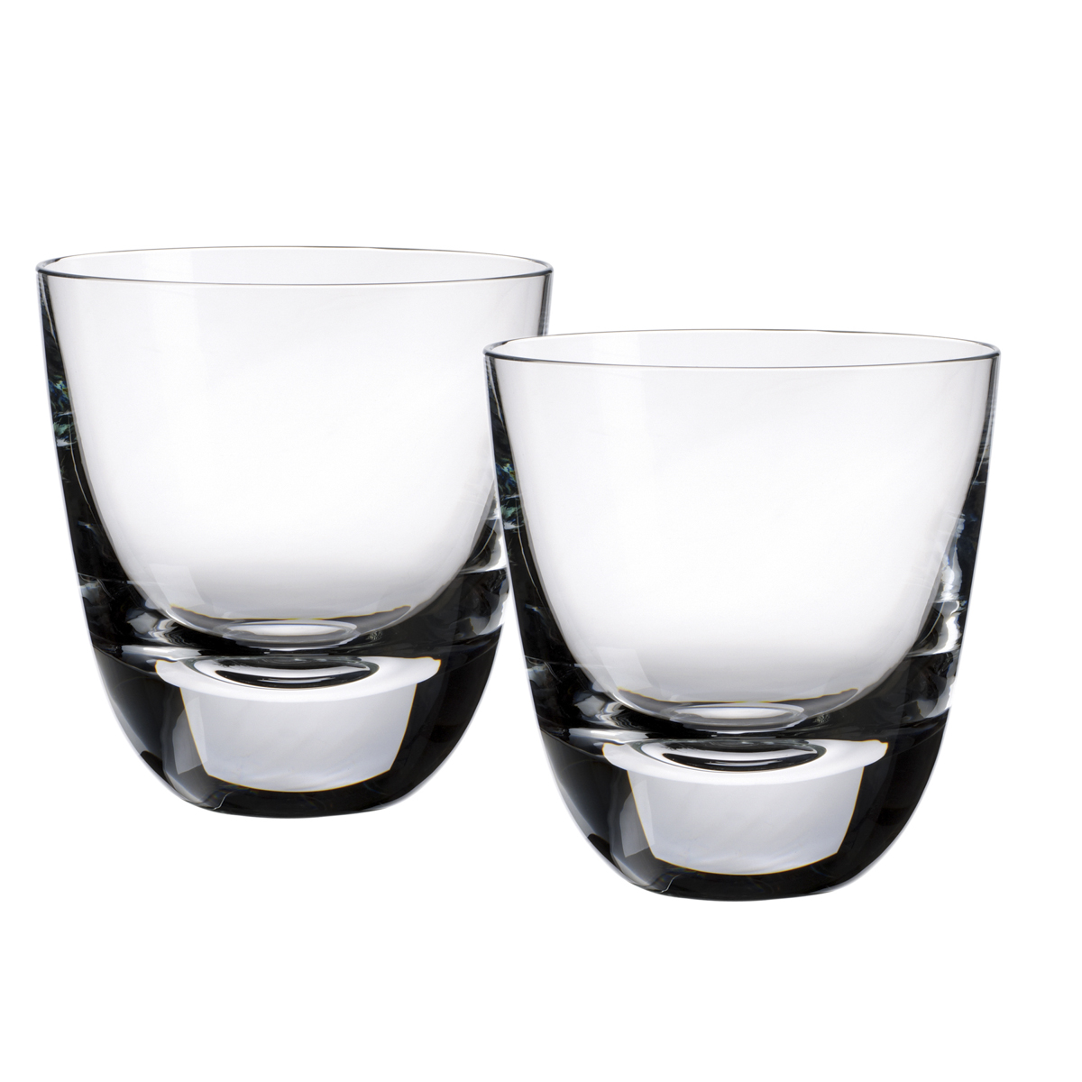 Set/2 Single Old Fashioned Glasses