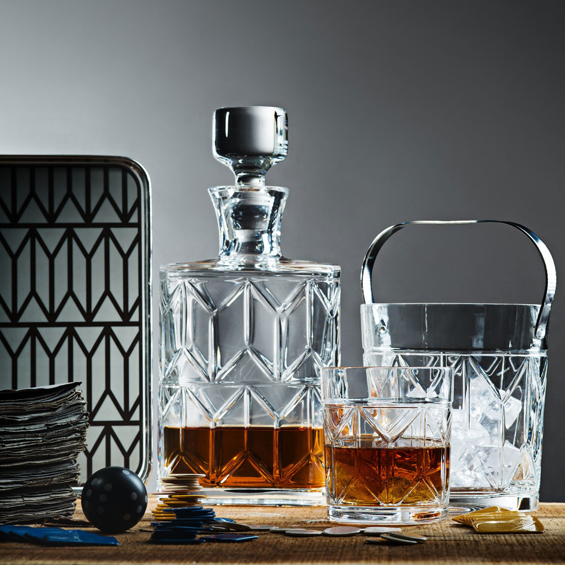 Old Fashioned Glass, 10cm, 285ml