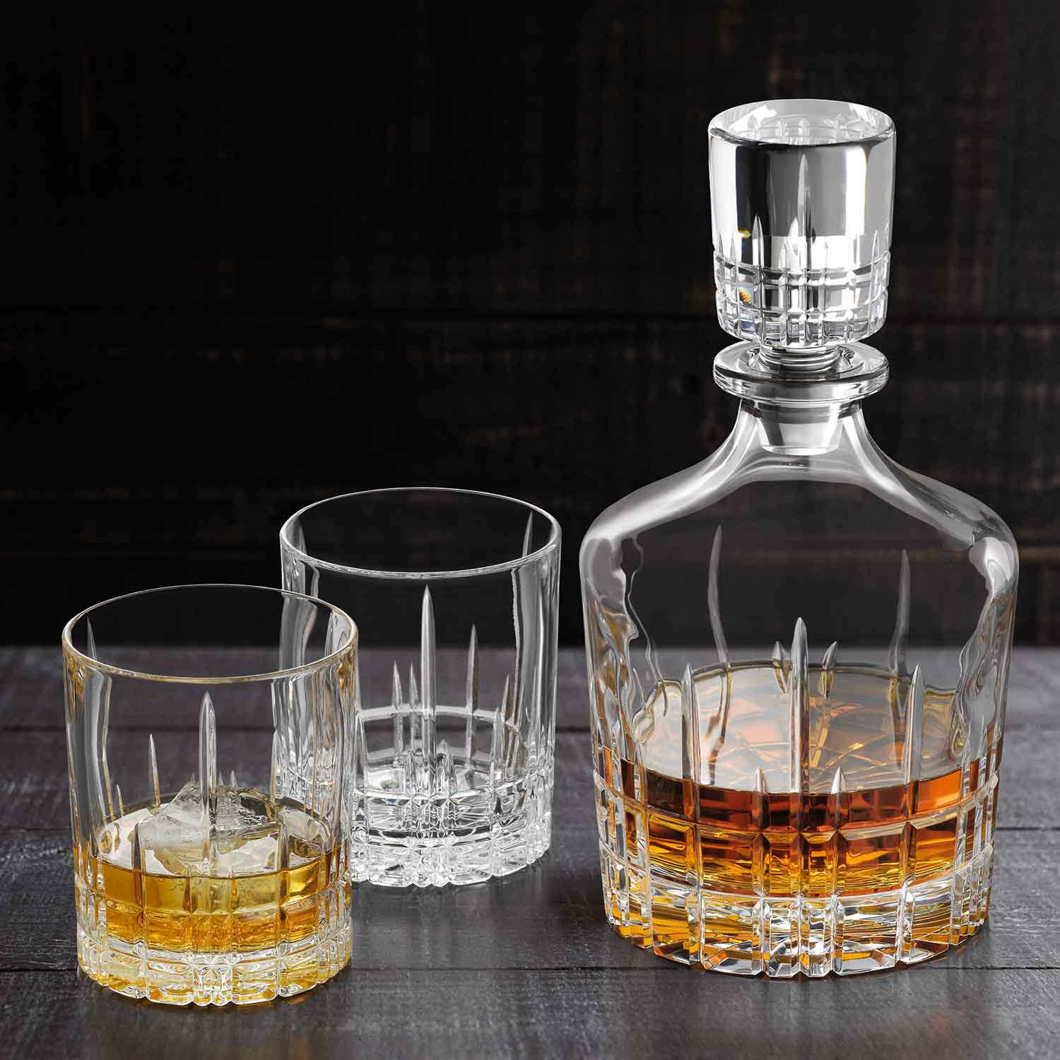 Perfect Double Old Fashioned Glass/Tumbler, 10cm, 365ml