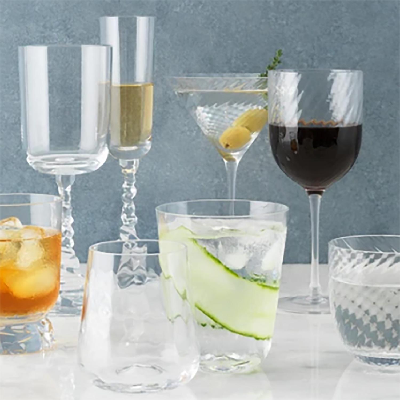 Water Glass/Goblet, 22cm, 355ml