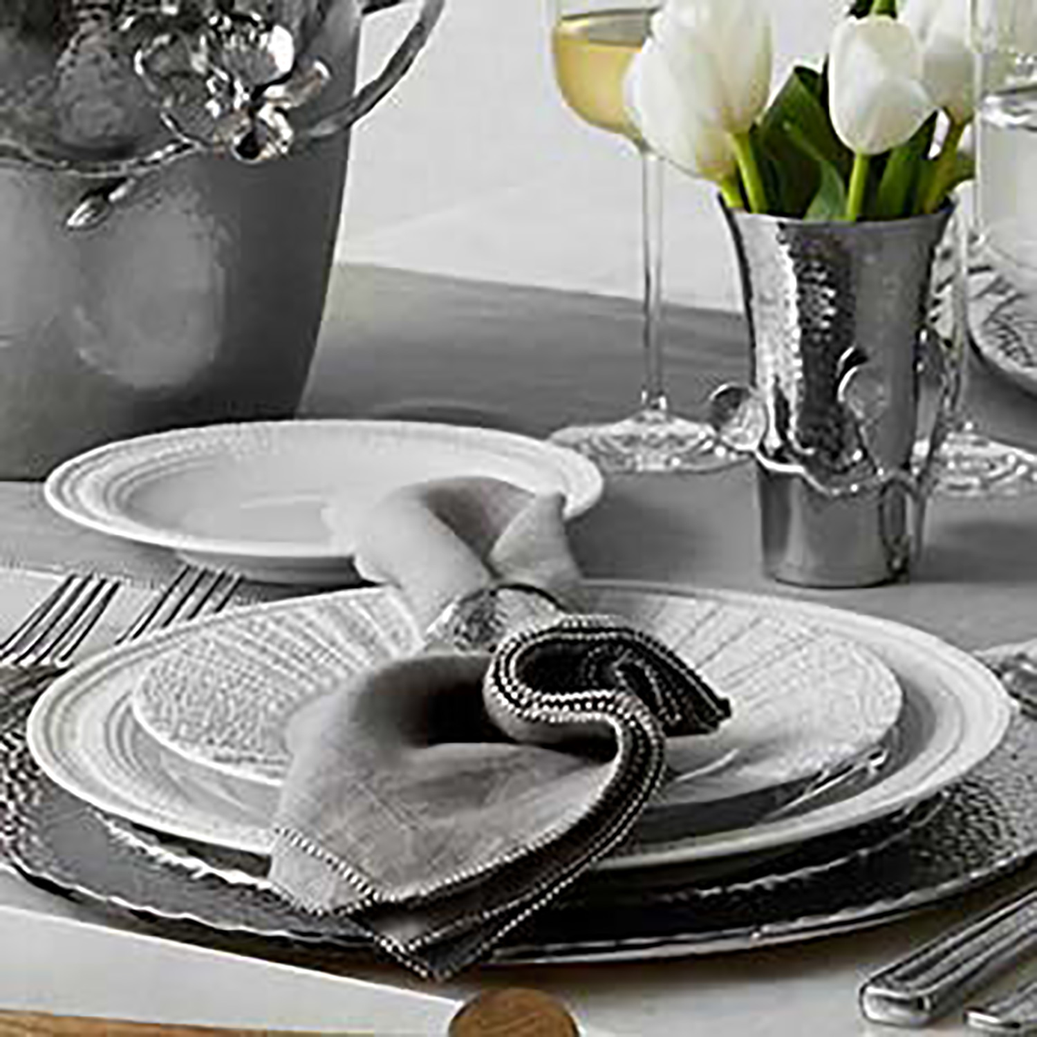 3 Piece Place Setting - White
