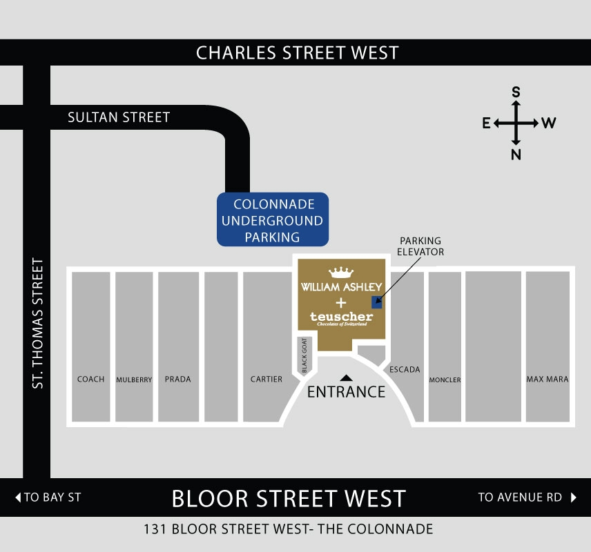 Flagship Store Detailed Map